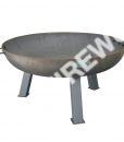 cast iron outdoor garden fire pit 970mm